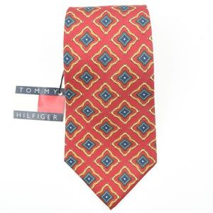 New! Tommy Hilfiger Mens Tie 100% Silk